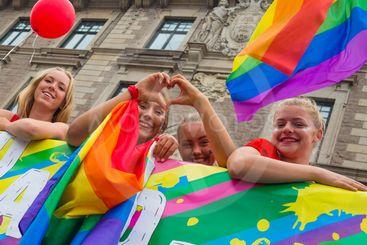 Handhjärta på Pride 5