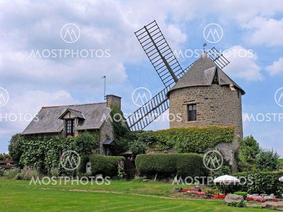 Windmill, Mont-Dol, Brittany