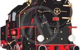 Veteran Steam Locomotive