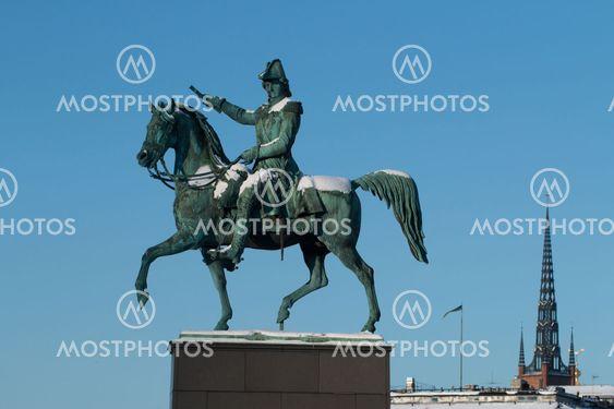 Karl XIV Johans staty