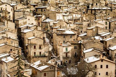 Old Scanno village