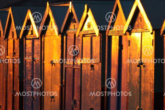 Hove beach huts 2