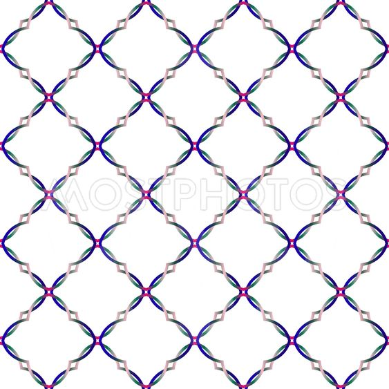 Colorful decorative patterns.Gradient style.