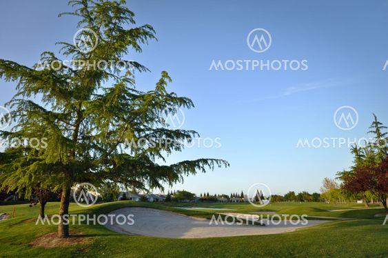 Golfbane i boligområde
