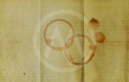 Coffee stains on old paper texuter