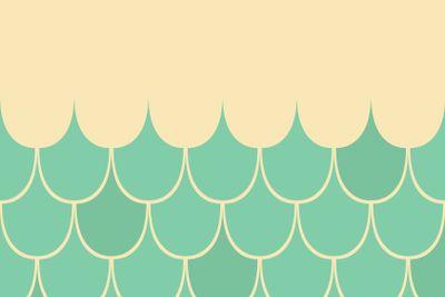 Sea theme vector card template with anchor.