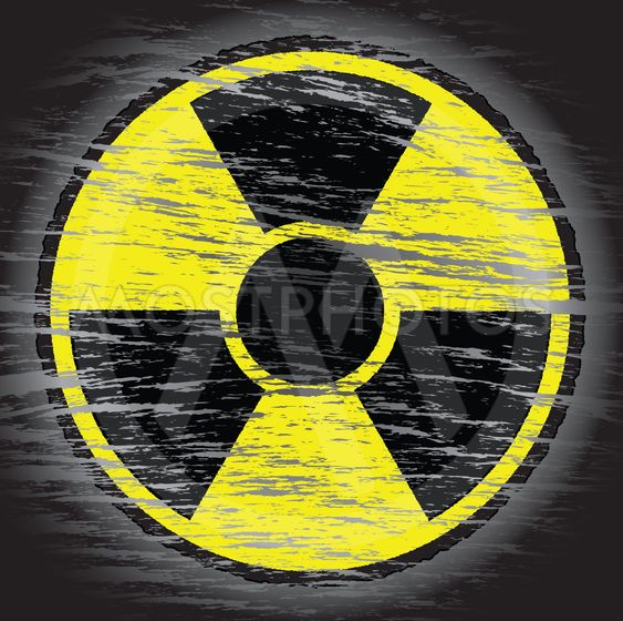 nukleare fare tegn