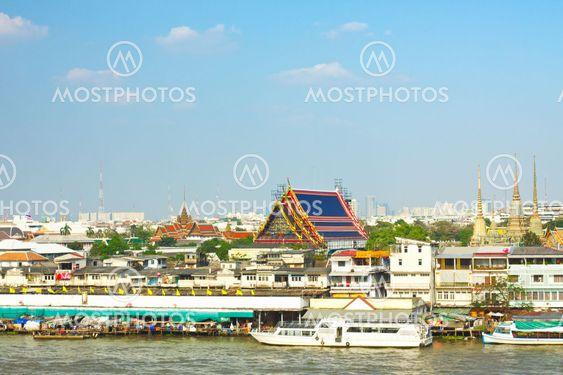 Wat Pho, Chao Phraya