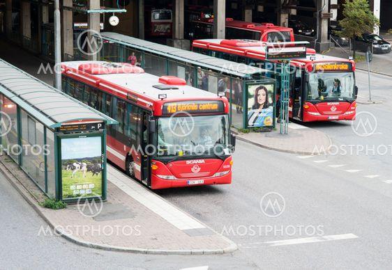 Slussen buss 413 & buss 434