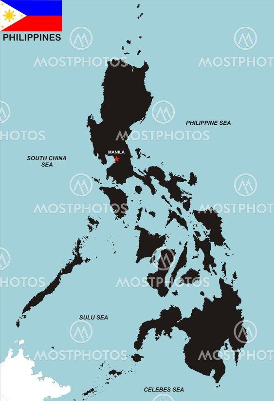 Tudor Antonel Adrian N Kuva Filippiinit Kartta Mostphotos