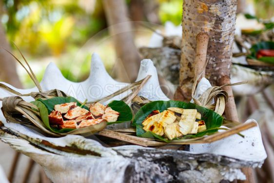 Local south pacific food