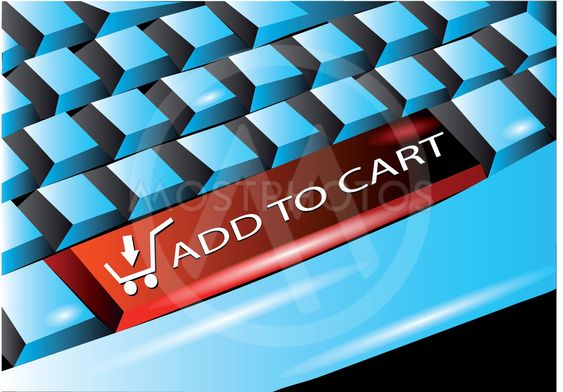 keyboard with add to cart