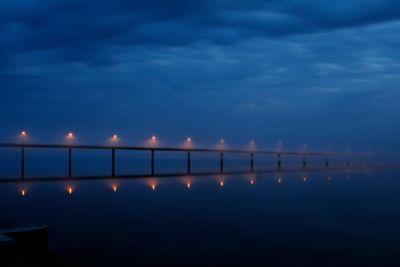 The bridge into the mist