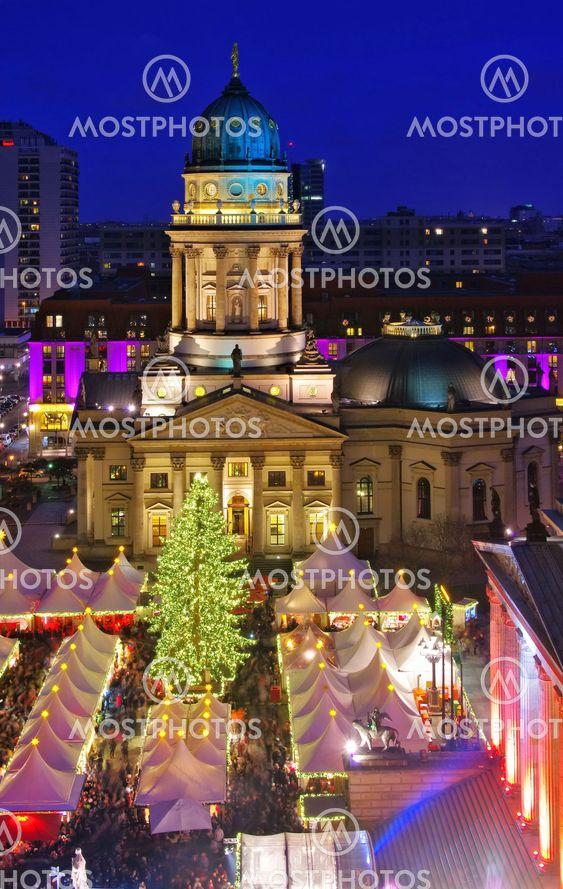 Berlin Weihnachtsmarkt Gendarmenmarkt - Berlin christmas...