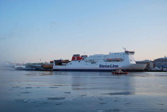 Gothenburg Harbor winter - Stena Line