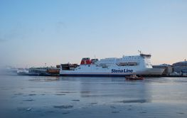 Gothenburg Harbor winter - Stena Line