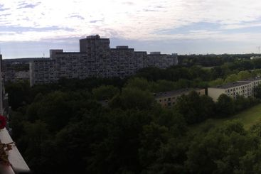 Panoramic view over the city
