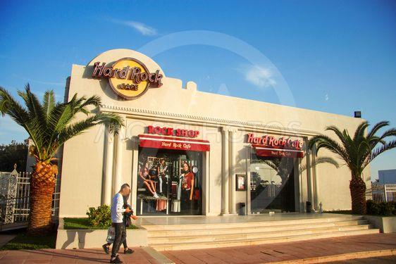 Hard Rock cafe Tunisia, Tunisia 08 october 2018