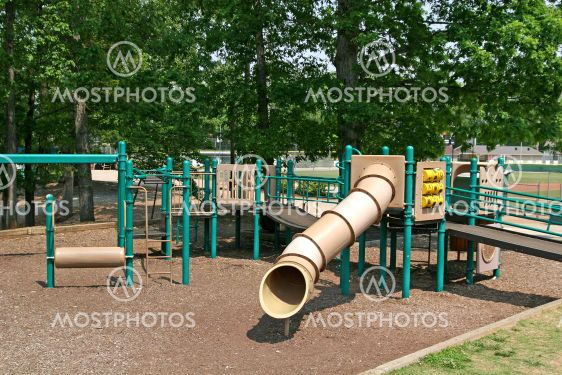 Green and Brown Playground