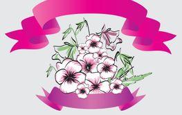 viola bouquet