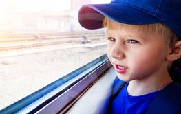 Child in the Train