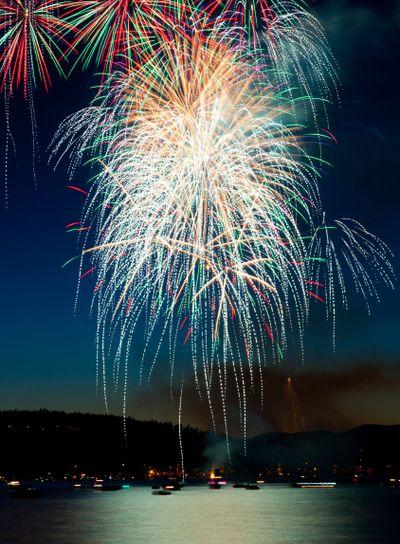 Cascading Fireworks