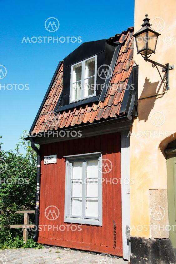 Det minsta huset i Stockholm som ligger på nytorgsgatan...