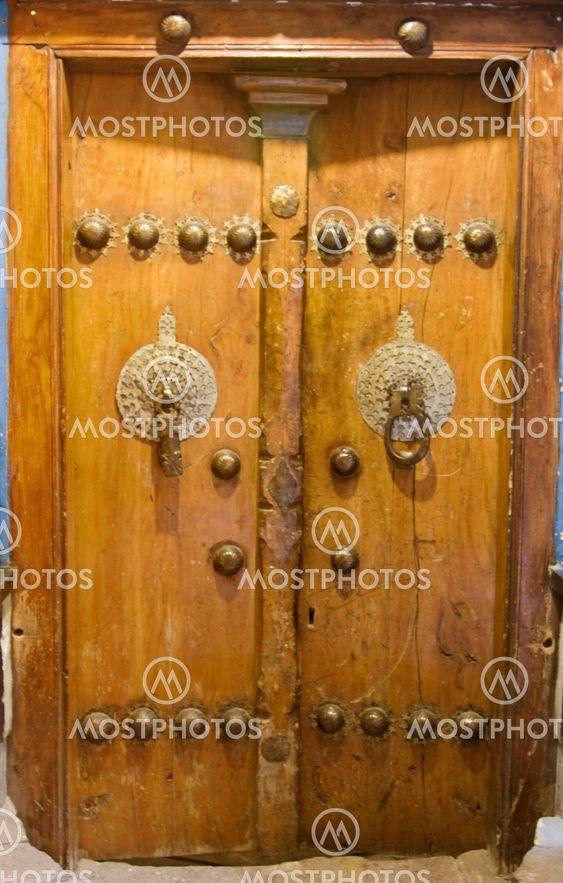 A persian old door