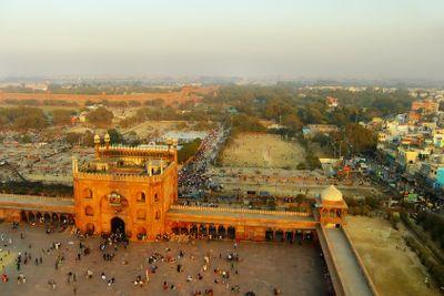 Courtyard of Jama Masjid, Delhi
