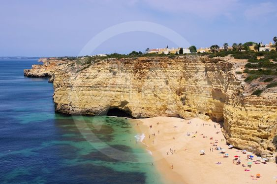 Algarve Strand da Senhora da Rocha - Algarve beach da...