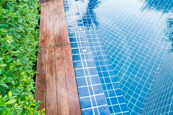 Beautiful Swimming pool  in hotel pool resort