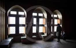 Arched Windows and Seating