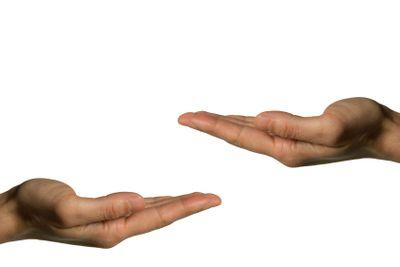 Two hands (left hand)