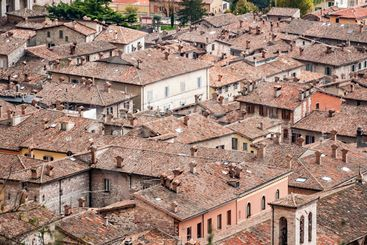 view of Gubbio