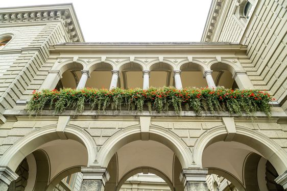 Colonades on the Bundeshaus