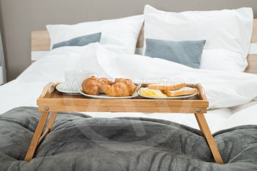 Breakfast On A Table Tray