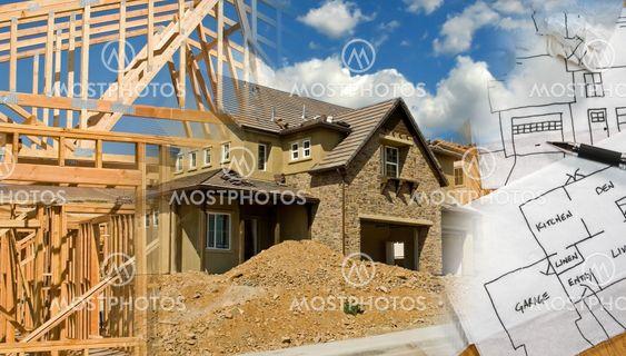 Arkitekt og konstruktion Montage