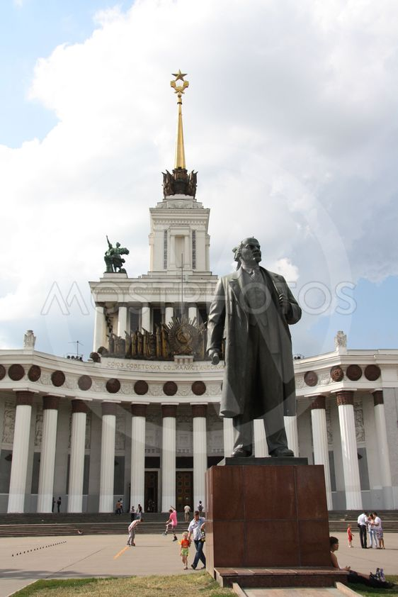 Monument of Lenin on VDNH, Moscow
