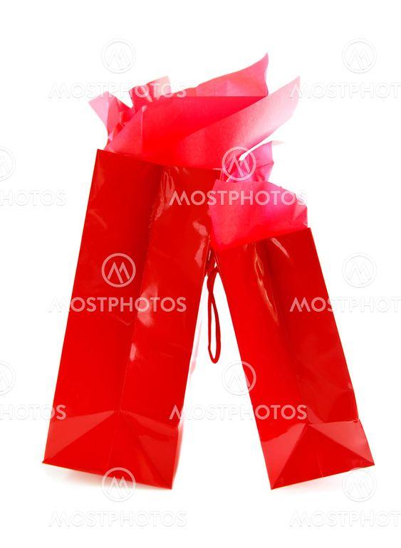 Punainen ostoskassit