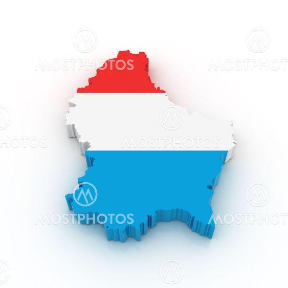 Cofkocof N Kuva Luxemburgin Kartta Mostphotos
