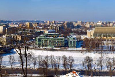 Vilnius in winter