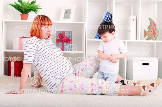 mor och baby, hem inredning