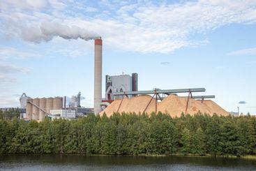Pulp mill Kymi