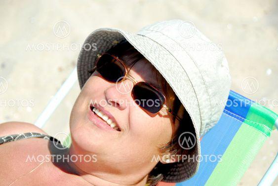 Kvinde strand