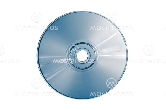 Compact disc (blue toned)