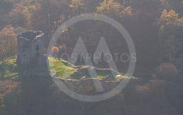 Atmospheric view of Dolbadarn Castle.