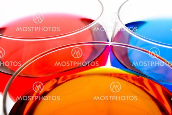 Farve drikkevarer