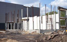 Industrial building outdoor factory construction
