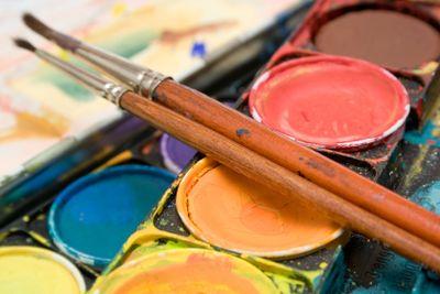 Watercolors (Close View)