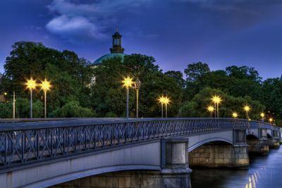 Skeppsholmen bridge.